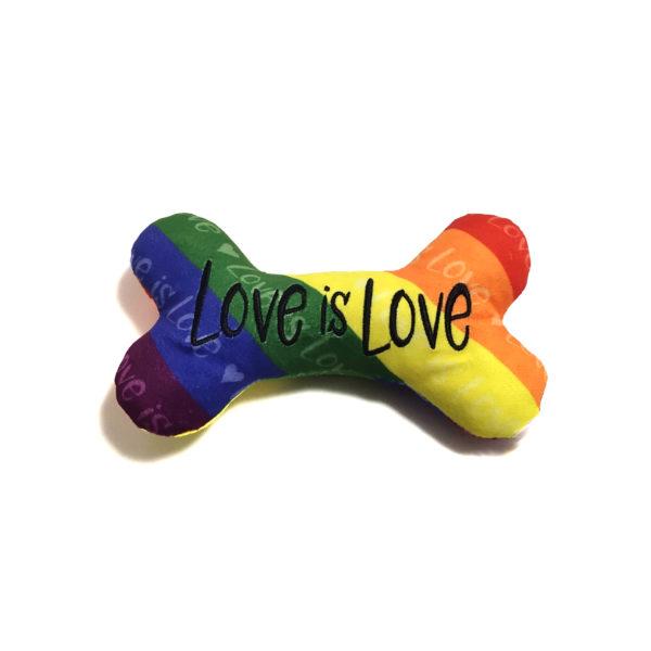 CatwalkDog Love is Love Plush Dog Toy
