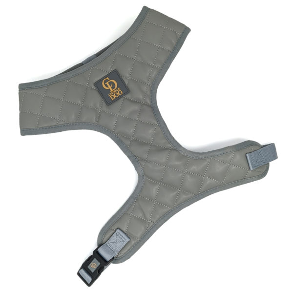CatwalkDog Paris Quilted Harness Grey
