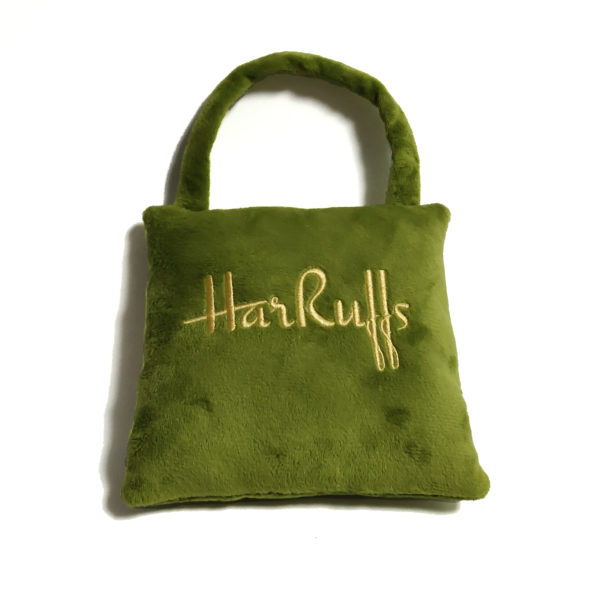 CatwalkDog HarRuffs Bag Plush Dog Toy