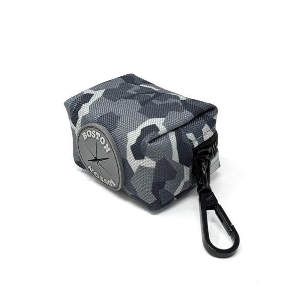Boston Grey Camo Poo Bag Holder