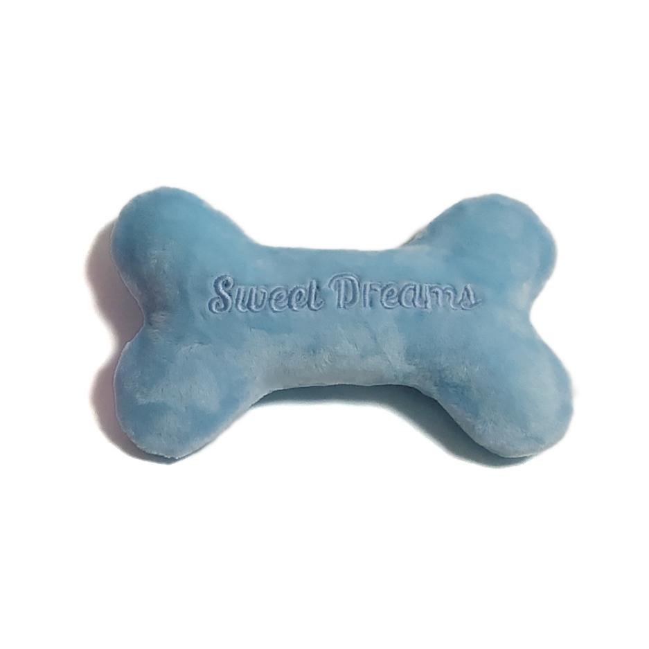 Sweet Dreams Glow in the Dark Bone Toy - Baby Blue
