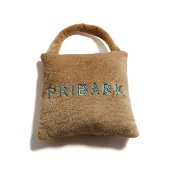 CatwalkDog Pribark Bag Parody Plush Dog Toy