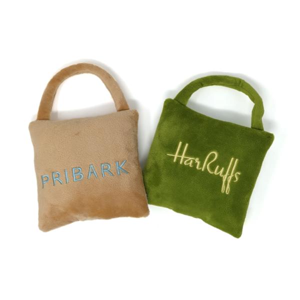 PriBark & Harruff's Shopping Bag Duo